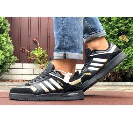 Купить Мужские кроссовки Adidas Drop Step черные с белым