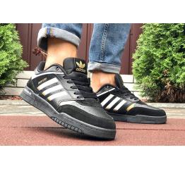 Купить Мужские кроссовки Adidas Drop Step черные с белым в Украине