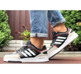 Купить Мужские кроссовки Adidas Drop Step черные с бежевым