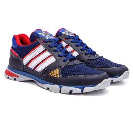 Мужские кроссовки Adidas Flex синие (blue)