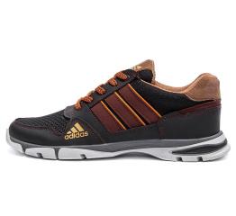 Купить Чоловічі кросівки Adidas Flex темно-коричневі (dkbrown)
