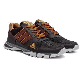 Мужские кроссовки Adidas Flex темно-коричневые (dkbrown)