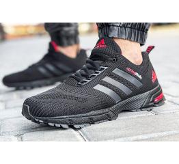 Купить Мужские кроссовки Adidas Marathon SpringBlade черные с красным
