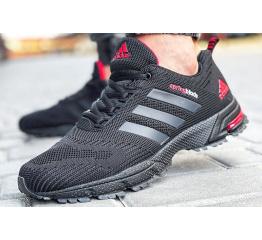 Купить Мужские кроссовки Adidas Marathon SpringBlade черные с красным в Украине