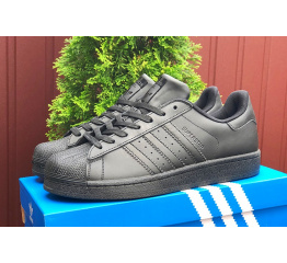 Купить Чоловічі кросівки Adidas Originals Superstar чорні