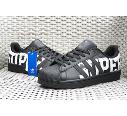 Купить Мужские кроссовки Adidas Originals Superstar черные