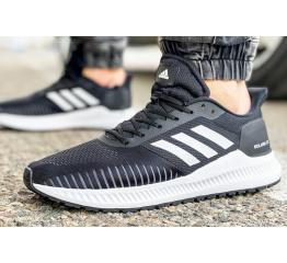 Мужские кроссовки Adidas Solarblaze черные с серым