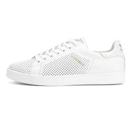 Купить Мужские кроссовки Adidas Stan Smith perforated белые