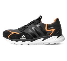 Купить Мужские кроссовки Adidas Terrex черные с оранжевым (black/orange)
