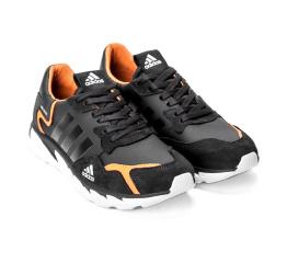 Купить Мужские кроссовки Adidas Terrex черные с оранжевым (black/orange) в Украине