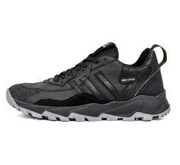 Купить Мужские кроссовки Adidas Terrex черные с серым