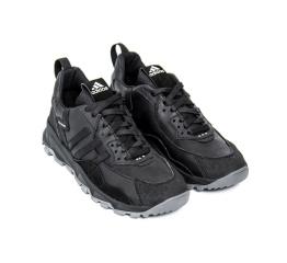 Купить Мужские кроссовки Adidas Terrex черные с серым в Украине