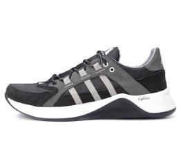Купить Мужские кроссовки Adidas Terrex черные с серым (black/grey)