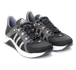 Купить Мужские кроссовки Adidas Terrex черные с серым (black/grey) в Украине