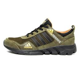 Купить Чоловічі кросівки Adidas Terrex хакі (khaki)
