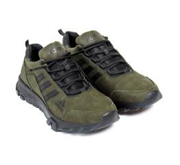 Купить Чоловічі кросівки Adidas Terrex темно-зелені в Украине