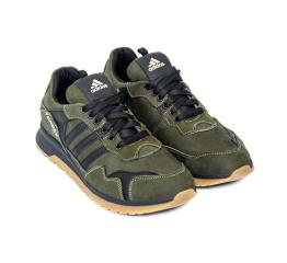 Купить Чоловічі кросівки Adidas Terrex зелені з чорним в Украине