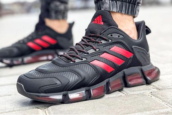 Мужские кроссовки Adidas x Pharrell Williams Climacool Vento black-red