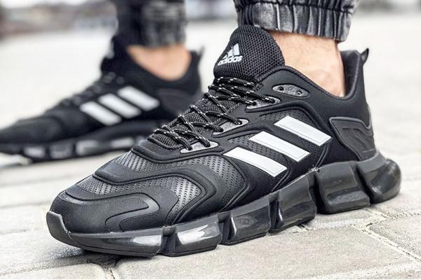 Мужские кроссовки Adidas x Pharrell Williams Climacool Vento black-white