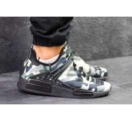 Купить Чоловічі кросівки Adidas x Pharrell Williams Human Race camo в Украине