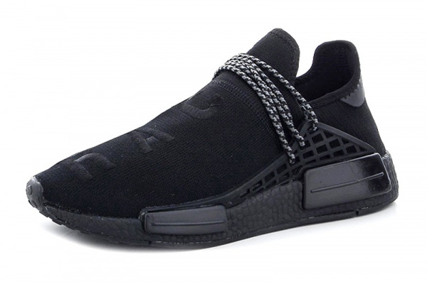 Мужские кроссовки Adidas x Pharrell Williams Human Race черные