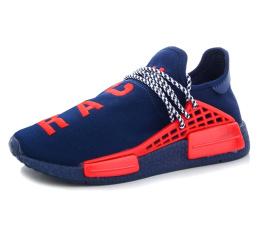 Купить Чоловічі кросівки Adidas x Pharrell Williams Human Race темно-сині