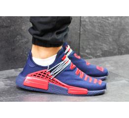 Купить Чоловічі кросівки Adidas x Pharrell Williams Human Race темно-сині в Украине