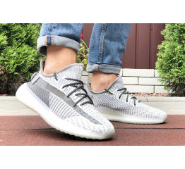 Купить Чоловічі кросівки Adidas Yeezy Boost 350 сірі в Украине