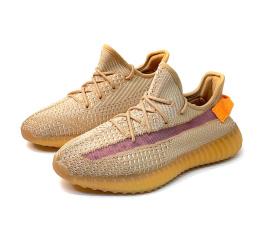 Купить Мужские кроссовки Adidas Yeezy Boost 350 V2 оранжевые