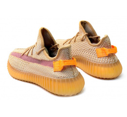 Купить Мужские кроссовки Adidas Yeezy Boost 350 V2 оранжевые в Украине
