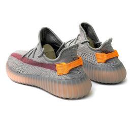 Купить Чоловічі кросівки Adidas Yeezy Boost 350 V2 сірі в Украине