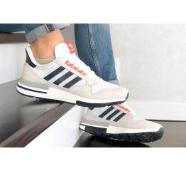 Купить Мужские кроссовки Adidas Zx 500 Rm бежевые с белым в Украине