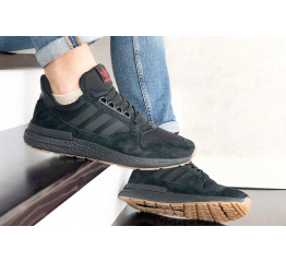 Купить Чоловічі кросівки Adidas Zx 500 Rm чорні в Украине