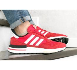 Купить Мужские кроссовки Adidas Zx 500 Rm красные с белым
