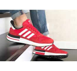 Купить Чоловічі кросівки Adidas Zx 500 Rm червоні з білим в Украине
