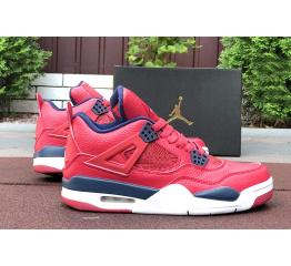 Купить Мужские кроссовки Air Jordan 4 Retro красные