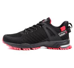 Купить Чоловічі кросівки BaaS чорні з червоним (black / red)