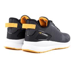 Купить Чоловічі кросівки BaaS темно-сірі з жовтим (dkgrey / yellow) в Украине