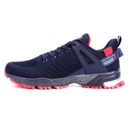 Купить Чоловічі кросівки BaaS темно-сині з червоним (black / red)