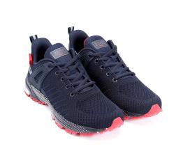 Купить Мужские кроссовки BaaS темно-синие с красным (black/red) в Украине