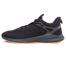 Купить Мужские кроссовки BaaS Trend System черные с оранжевым (black/orange)