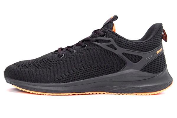 Мужские кроссовки BaaS Trend System черные с оранжевым (black/orange)
