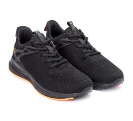Купить Чоловічі кросівки BaaS Trend System чорні з помаранчевим (black/orange) в Украине