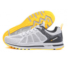 Купить Мужские кроссовки BaaS Trend System серые с желтым (grey/yellow)