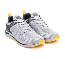 Купить Чоловічі кросівки BaaS Trend System сірі з жовтим (grey/yellow) в Украине