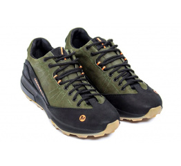 Купить Чоловічі кросівки Merrell зелені з чорним в Украине