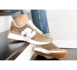 Купить Мужские кроссовки New Balance 327 коричневые