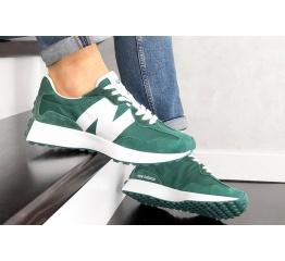 Купить Мужские кроссовки New Balance 327 зеленые