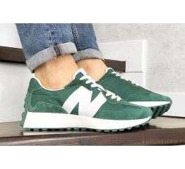Купить Мужские кроссовки New Balance 327 зеленые в Украине