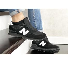 Купить Мужские кроссовки New Balance 574 черыне с белым в Украине
